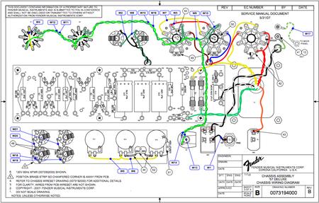 Fender amp schematic