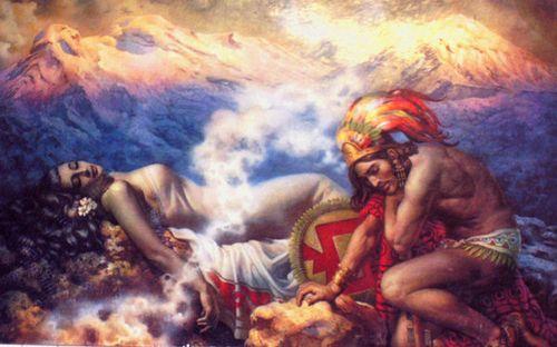 Popocatepetl_and_Iztaccihuatl_by_Legadema
